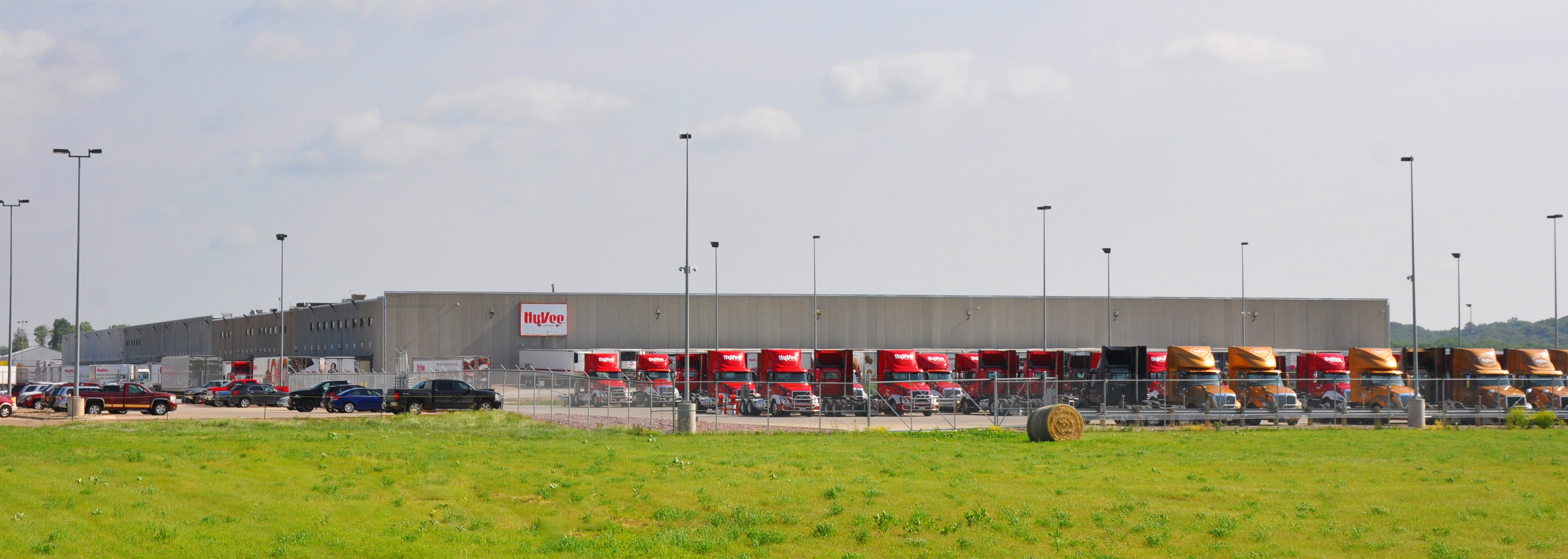 HyVee Distribution Center in Cherokee Iowa